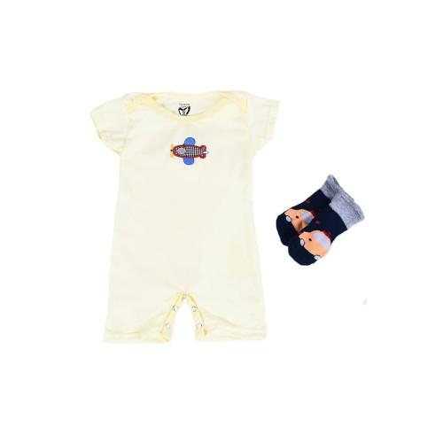 Foto Produk Romper / Sleepsuit Lovelle Cart's 3 in + Socks - Girl, 0-3 Bulan dari Lovelle Cart's