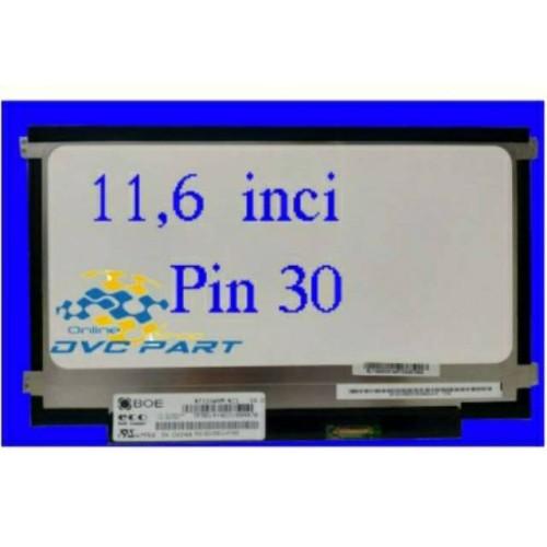 Foto Produk Promo LED LAPTOP 11 6 INCH SLIM 30 PIN ASUS LENOVO HP ACER Murah dari ronanakbar
