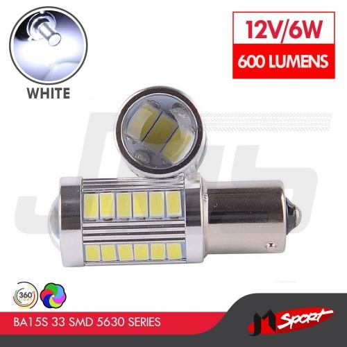 Foto Produk Lampu LED Mobil / Motor S25 1156 / BA15S 33 SMD 5730 - White dari Jaya Motorsport
