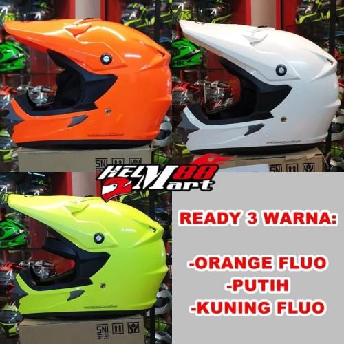 Foto Produk Helm Cargloss Cross Solid Polos MXC helm motocross super cross dari Helm Mart 88