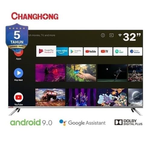 Foto Produk Changhong L32H7 Smart Android LED HD TV [32 Inch] dari Bandung Elektronika