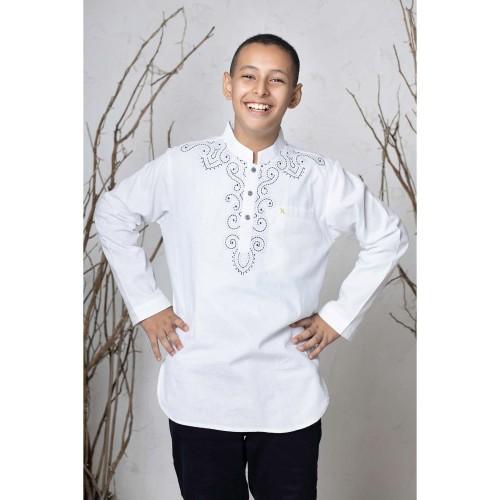 Foto Produk Busana muslim anak - Baju koko NE 45 INDIA ANAK | NIZAR BORDIR dari Nizar Official