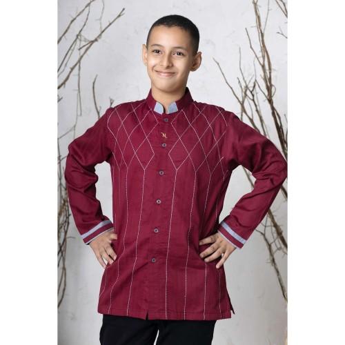 Foto Produk Busana muslim anak - Baju koko NE 12 I ANAK | NIZAR BORDIR dari Nizar Official