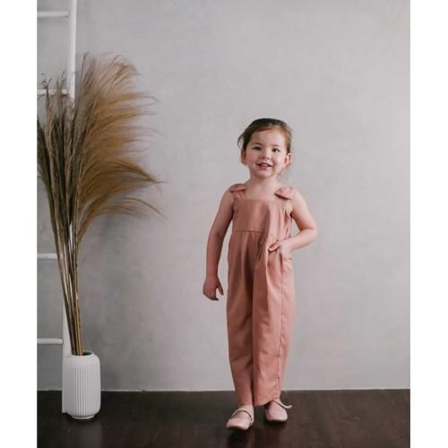 Foto Produk Piccola Alba Jumpsuit Dusty Pink - 4-5y dari Kottonville