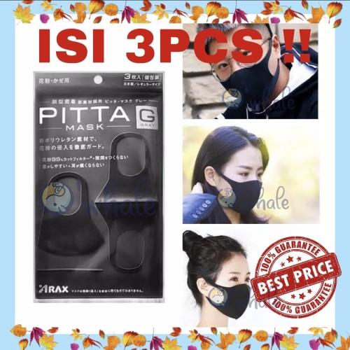 Foto Produk Pitta Mask - Masker Wajah Original from Japan Isi 3 pcs Best Seller! dari Owhale