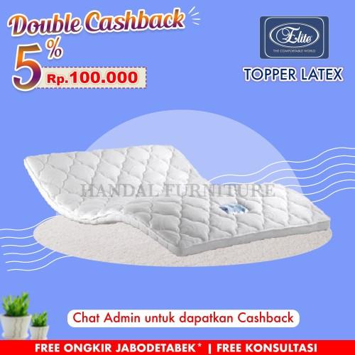 Foto Produk Jadetabek! Orthopedic Latex Topper Elite Tebal 7 cm ukuran 160 x 200 dari Handal Furniture