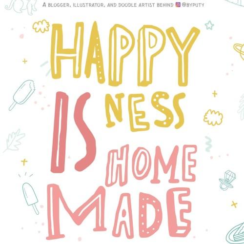 Foto Produk HAPPINESS IS HOMEMADE dari Outoftheboox Surabaya