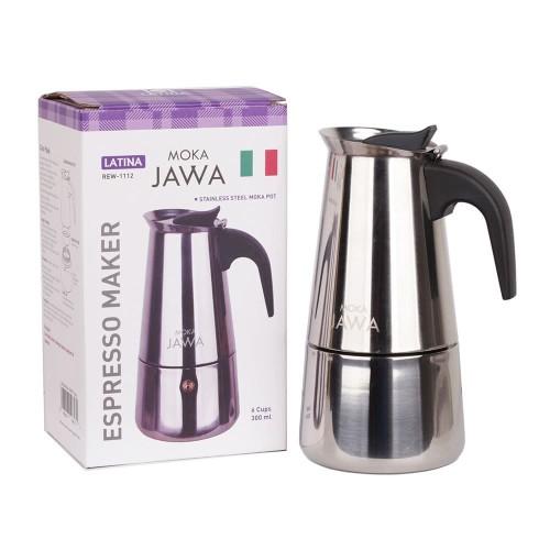 Foto Produk Latina Moka Jawa - Mokapot 6cup 300ml REW-1112 dari Gerilya Coffee