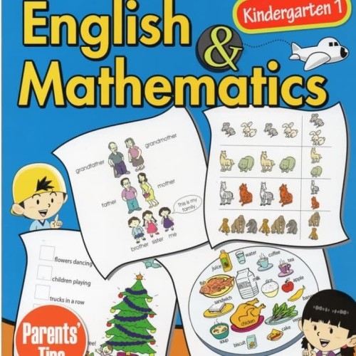 Foto Produk Preschool English & Mathematics k1 dari Little Bookworm