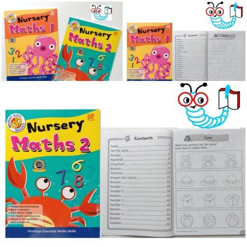 Foto Produk Bright Kids Nursery Maths 1 - Nusery Maths 1 dari Little Bookworm