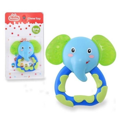 Foto Produk Lusty Bunny Baby Water Filled Teether Chew Toy Mainan Gigitan Bayi Air dari Toylogy