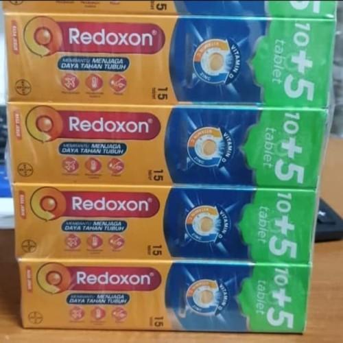 Foto Produk Redoxon Triple Action rasa Jeruk isi 15 tablet dari EJ shoppe