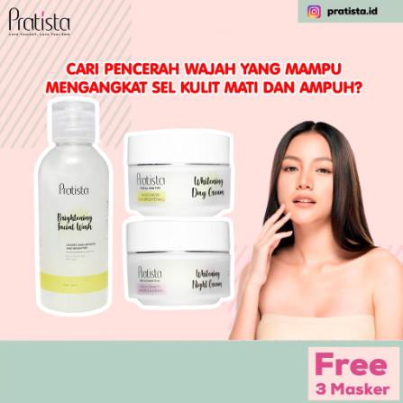 Foto Produk (Paket Cream Penghilang Bopeng Paling Ampuh) 100% Terbukti Pratista dari halimah kosmetiku