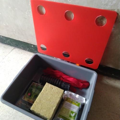 Foto Produk paket pemula hidroponik 6 lubang dari pesma agrofarm