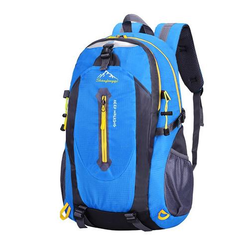 Foto Produk Freeknight Tas Pria Ransel Travel Punggung Backpack Anti Air TR110 - Biru dari Freeknight