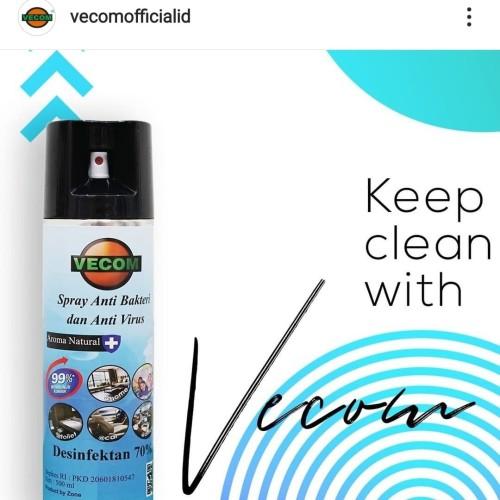 Foto Produk Vecom Spray Anti Bakteri Dan Anti Virus dari jonathanvaping