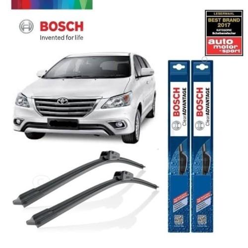 Foto Produk Wiper Mobil Frameless Toyota Innova Sepasang Bosch Clear Advantage dari BOSCH Automotive