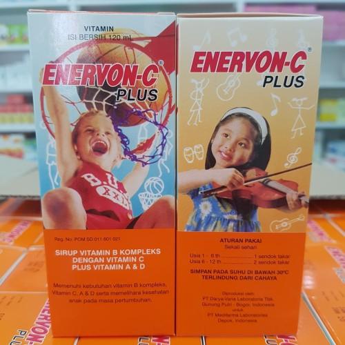 Foto Produk Enervon c sirup / syrup 120 ml dari Apt Mega Jaya