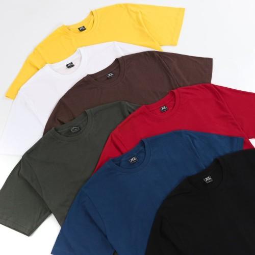 Foto Produk Kaos Polos Cotton Bamboo XXL - Premium Quality - Putih dari Daily Outfits DYO
