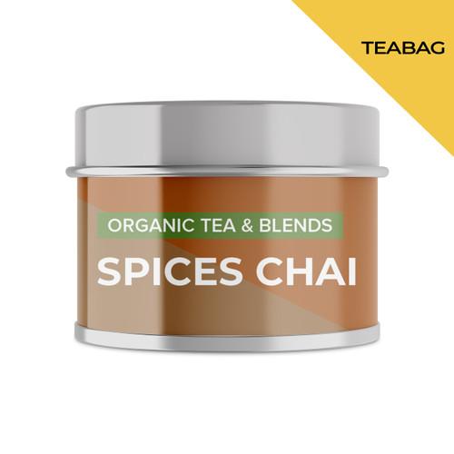 Foto Produk SPICES CHAI | Mini Tin | Cocodeli by Haveltea Organic| Teh Rempah Jahe - 5 Tea Bags dari Haveltea Official Store