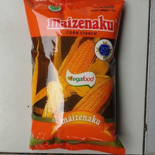 Foto Produk [satuan] Tepung Maizena Corn Starch MAIZENAKU 1 kilo / 1kg / 1 Kg dari Aimee Bag & Plush Toys