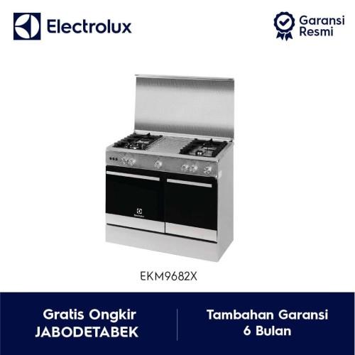 Foto Produk Kompor Freestanding ELECTROLUX EKM 9682X / EKM9682X Free EFT9033K dari Electrolux Official