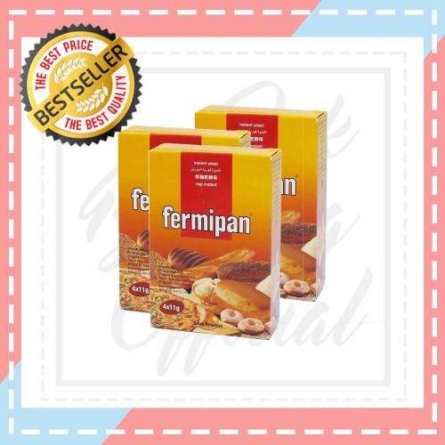 Foto Produk Fermipan   Ragi Instan   4 x 11 Gr dari Jak Blessing Official