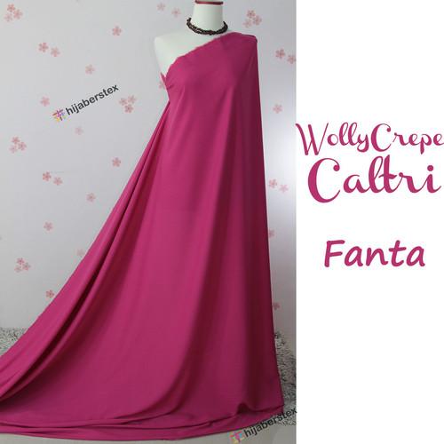 Foto Produk Bahan Kain Wolly Crepe Caltri Kualitas Premium - Fanta dari Pondok Hijabers
