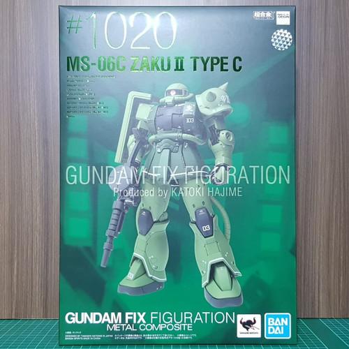 Foto Produk Gundam Fix Figuration Metal Composite MS-06C Zaku II GFFMC dari HSN OL Shop