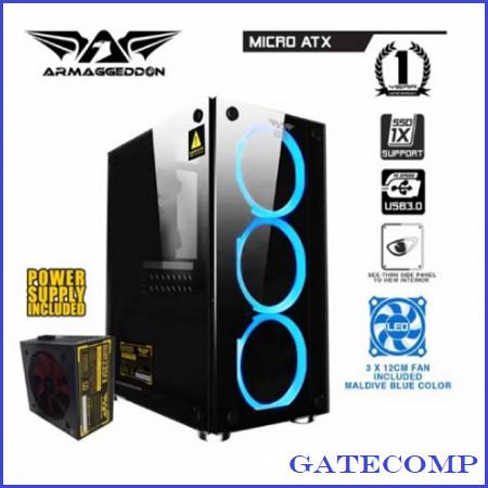 Foto Produk PC GAMING TERMURAH AMD ATHLON 200GE - RAM 8 GB - SSD 120 GB - HDD 500 dari Gatecomp Technology