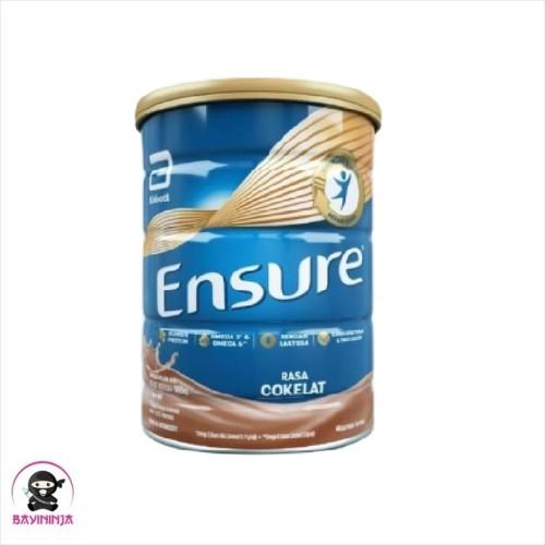 Foto Produk ENSURE Susu Rendah Laktosa Coklat 1000g / 1000 g dari BAYININJA