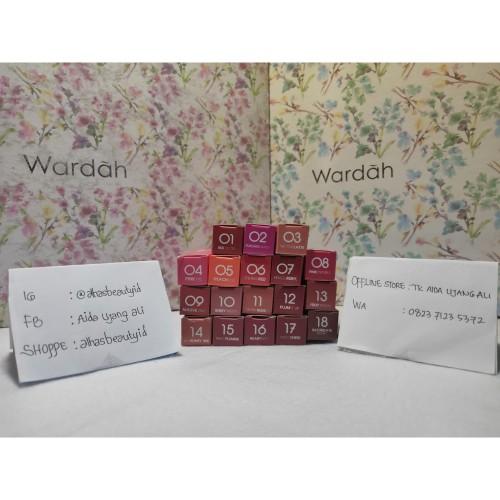 Foto Produk Wardah exclusive matte lip cream 10 berry pretty / lipstick lipstik dari Alhasbeautyid