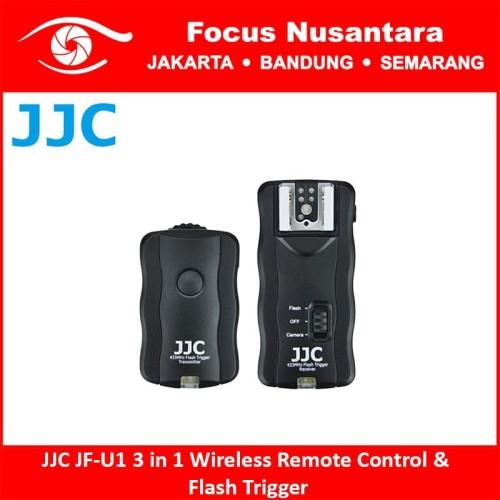 Foto Produk JJC JF-U1 3 in 1 Wireless Remote Control & Flash Trigger dari Focus Nusantara