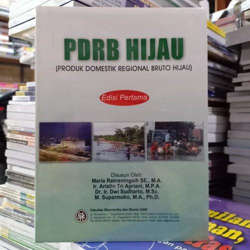 Foto Produk PDRB Hijau ( Produk Domestik Regional Bruto Hijau ) Ed Pertama dari Dapur Ilmu