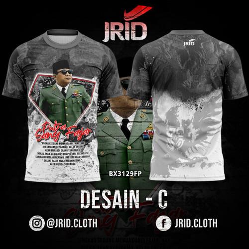 Foto Produk Kaos Baju Jersey Presiden Soekarno - Desain C - BX3131FP JRID - L dari jrid cloth