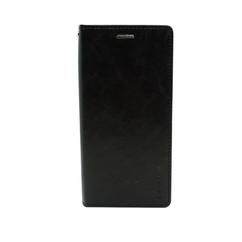 Foto Produk GOOSPERY Samsung A50 /A50S /A30S Blue Moon Flip Case - Black dari Goospery Indonesia