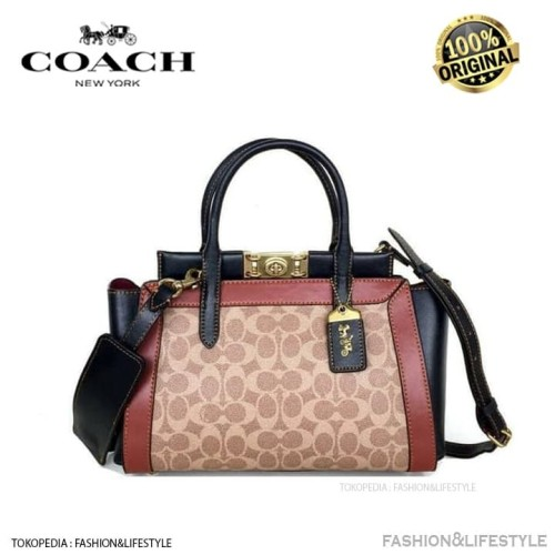 Foto Produk Coach Troupe Carryall In Signature Canvas Handbag Coach Original 100% dari Fashion&LifeStyle
