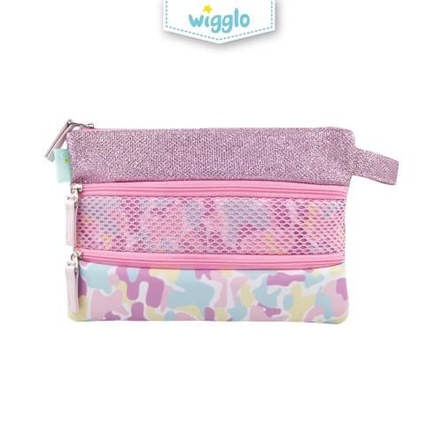 Foto Produk Triple Pouch Army Pink dari Wigglo Indonesia