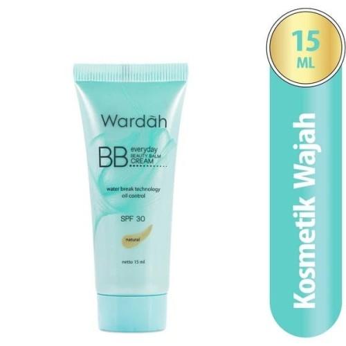 Foto Produk Wardah Everyday Bb Cream Natural 15Ml / Foundation / Alas Bedak dari Orvin Health & Beauty
