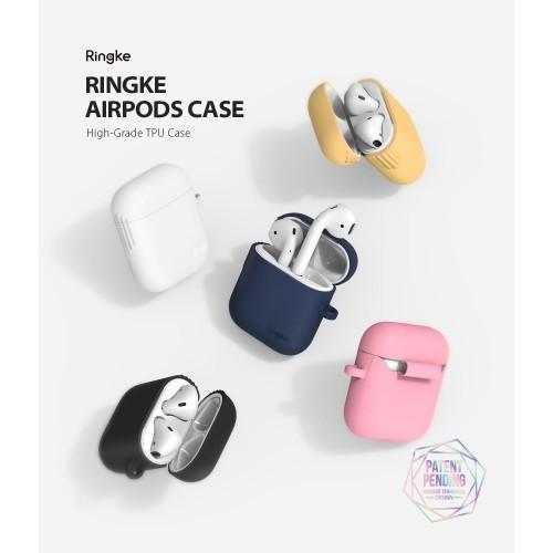 Foto Produk Original Ringke Case Apple Airpods 1 Airpods 2 Premium Softcase Casing - Kuning dari GadgetLifestyle Official