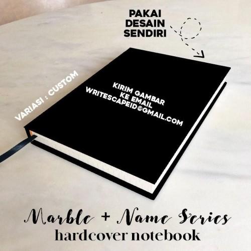 Jual Marble Name Hardcover Aesthetic Notebook Buku Tulis A5 B5 Plain Grid Jakarta Selatan Rawaboniwarnagrosir Tokopedia