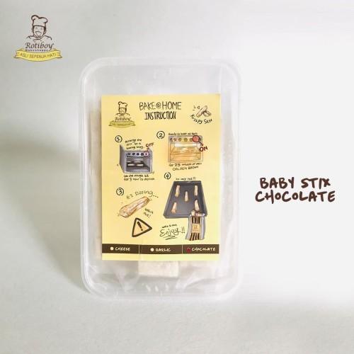 Foto Produk KRISPY STIX CHOCOLATE, FROZEN dari ROTIBOY Bake At Home