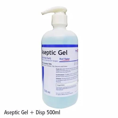 Foto Produk Aseptic Gel OneMed 500ML Original 100% dari finestgarment