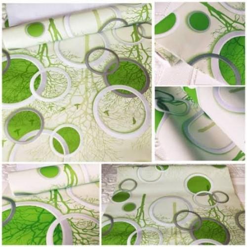 Foto Produk wallpaper dinding polkadot hijau 45 cm x 10 m dari jay acc