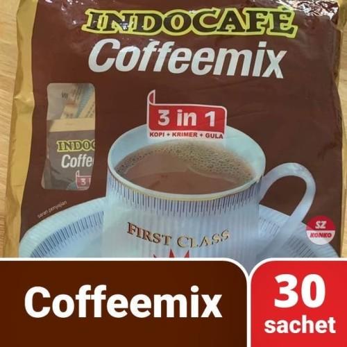 Foto Produk Kopi Indocafe Coffeemix 3-in-1 (isi 30 sachet x 20gr) / PROMO / DISKON dari SZ Konko
