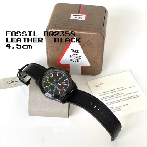 Foto Produk READY FOSSIL BQ 2358 LEATHER BLACK dari ferliarj16