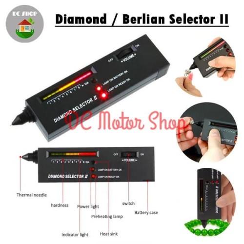 Foto Produk Alat Deteksi Gemstone / Berlian/Diamond - Alat Test /tester Batu Mulia dari DC Motor Shop