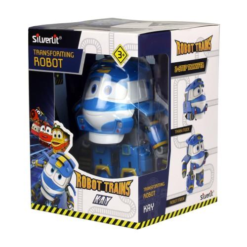 """Foto Produk MAINAN ROBOT TRAIN 80164 4"""" TRANSFORMING ROBOT KAY dari Jiwoo Toys"""