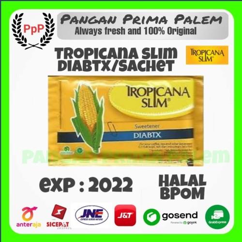 Foto Produk Tropicana slim sweetener diabtx pcs/sachet gula jagung diabetes dari Pangan Prima Palem