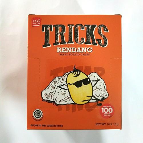 Foto Produk Tricks Snack 1box isi 10pcs - Rendang dari snack_it